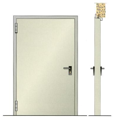 Porte tagliafuoco vetrate tagliafuoco maniglioni for Porte rei 60 treviso